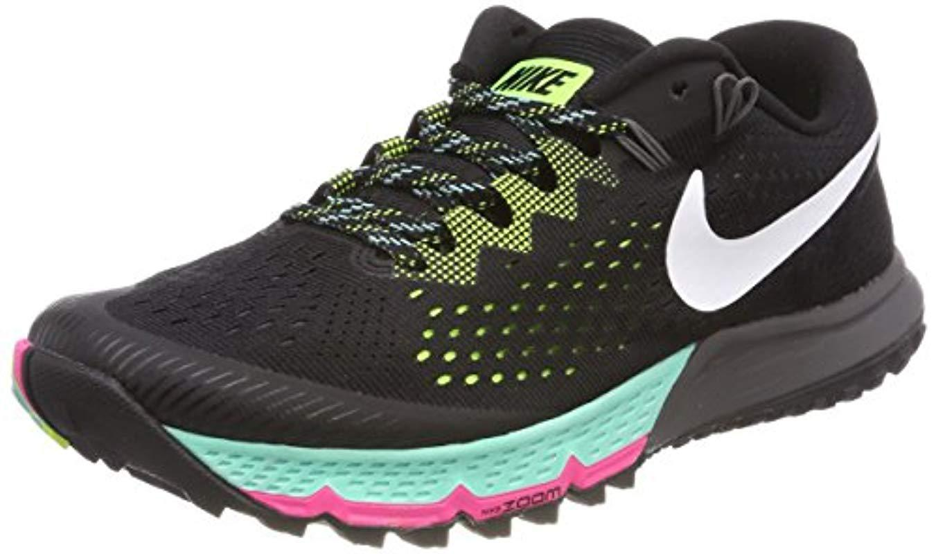 acf8b8d0480f Nike  s Air Zoom Terra Kiger 4 Running Shoes in Black for Men - Lyst