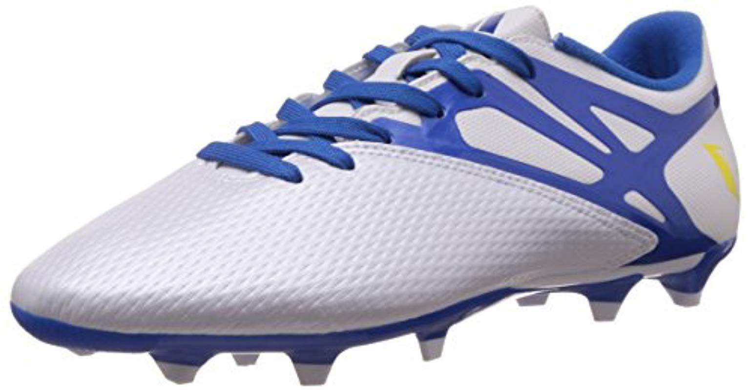 d527a96c0c6 italy adidas messi 15.1 fg ag white prime blue yellow medial angle 100bc  c87d4  shopping adidas. mens messi 15.3 27837 c7ec7