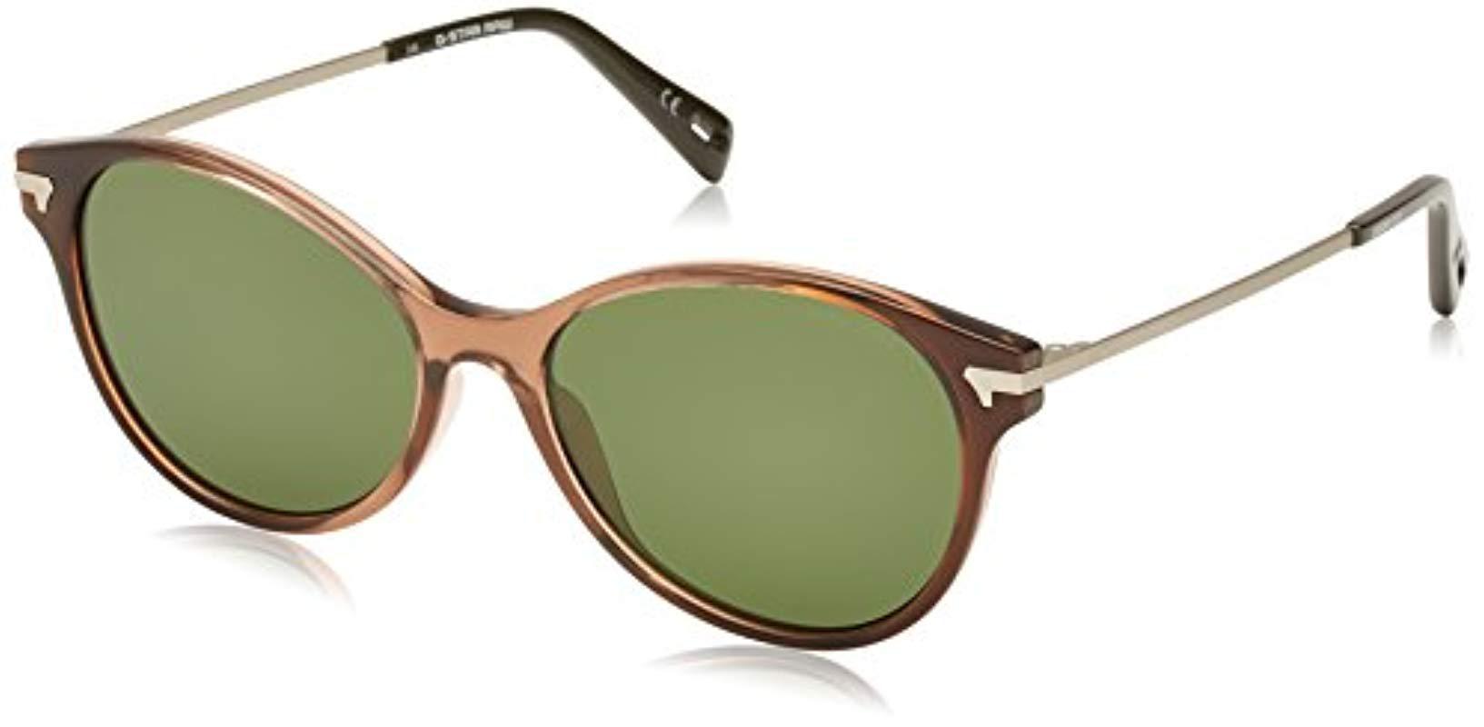 fd7dfb7188c7 G-Star RAW G-star Gs628s Combo Oxlex Cat Eye Sunglasses in Brown - Lyst
