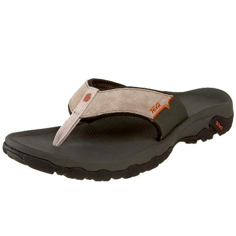 Teva Suede Katavi Thong Outdoor Sandal
