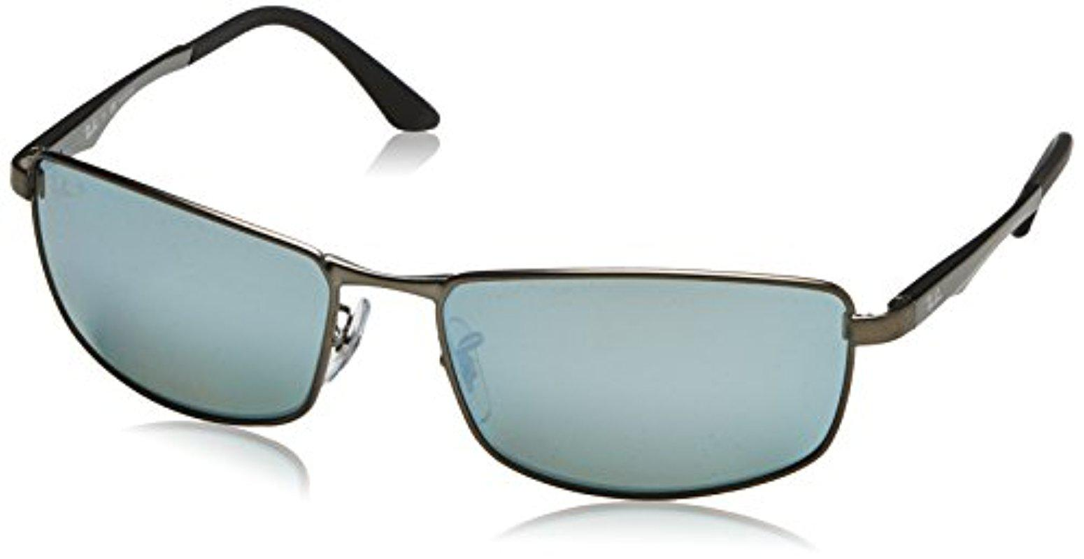 f036db8308f Ray-Ban. Men s Rb3498 029 y4 Polarized Sunglasses ...