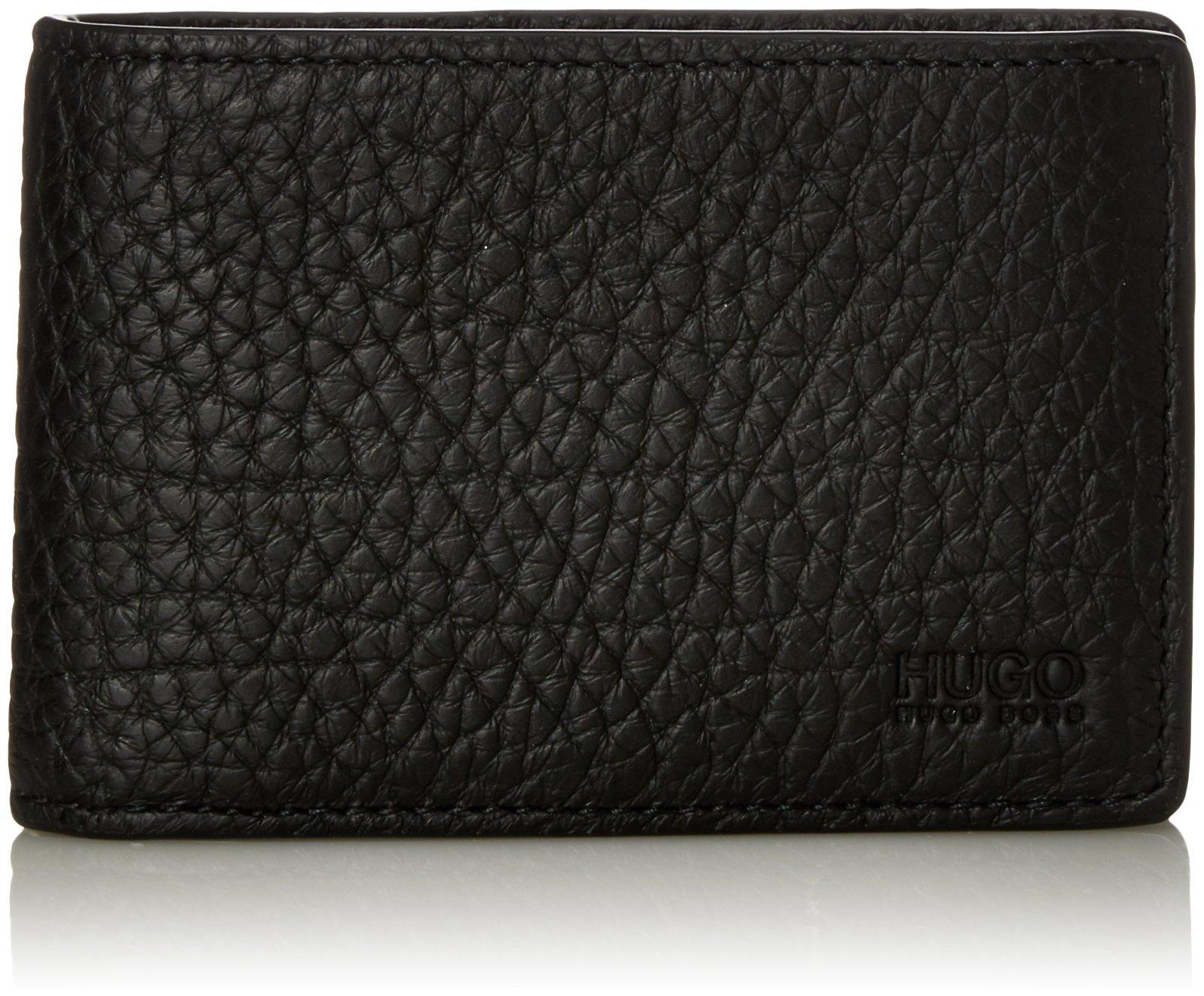 Men/'s Wallet B x H T 1.5x8.3x11 cm HUGO Victorian/_6 Cc Black