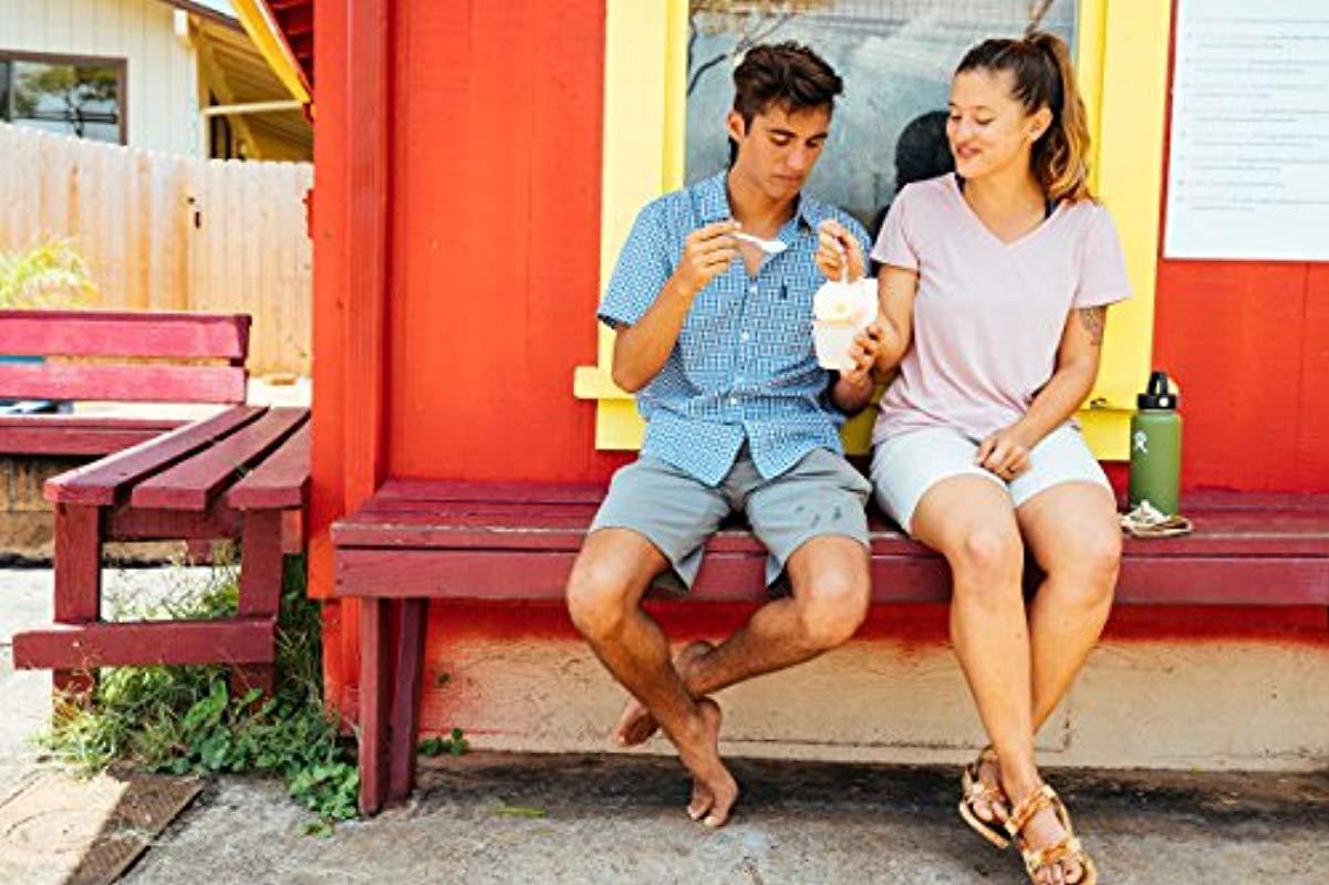 Dickies Cotton Yarn Dyed Plaid Short Sleeve Shirt Button Down Hemd in Blau für Herren