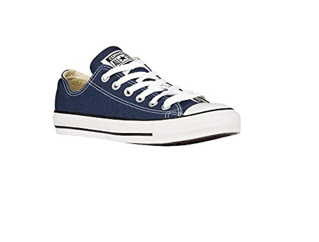 b79f9dc1eeb0df Lyst - Converse Chuck Taylor All Star Washed Twill Ox in Blue for Men
