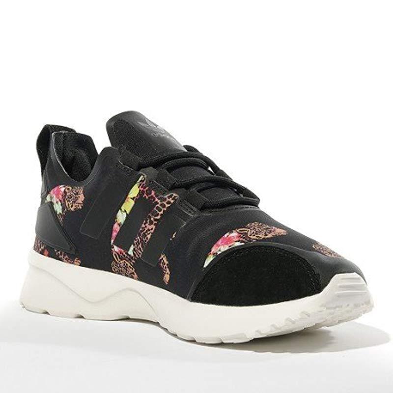 fb41abe84 Adidas - Black Zx Flux Adv Verve Low-top Sneakers - Lyst. View fullscreen