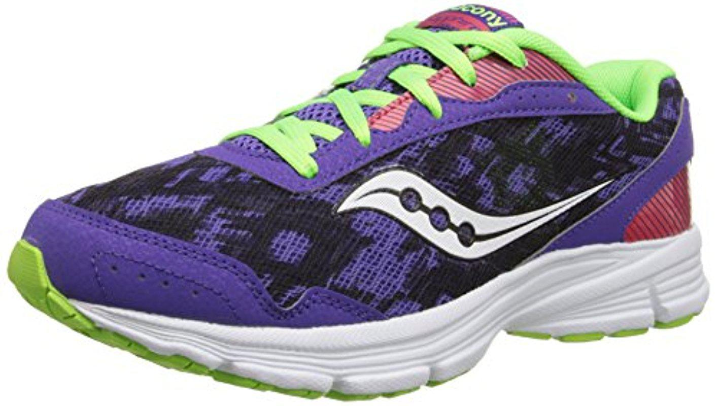 Saucony Sneakers Womens - Saucony Sapphire Purple Red