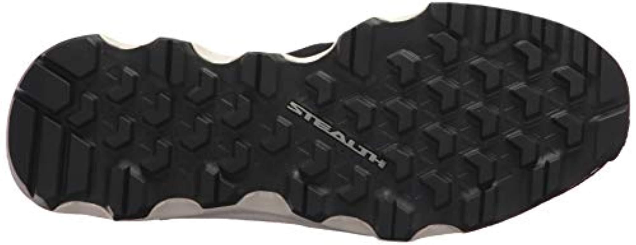 adidas Originals Rubber Adidas Sport Performance Terrex Cc Voyager Sleek Sneakers in Black/Black/Chalk White (Black)