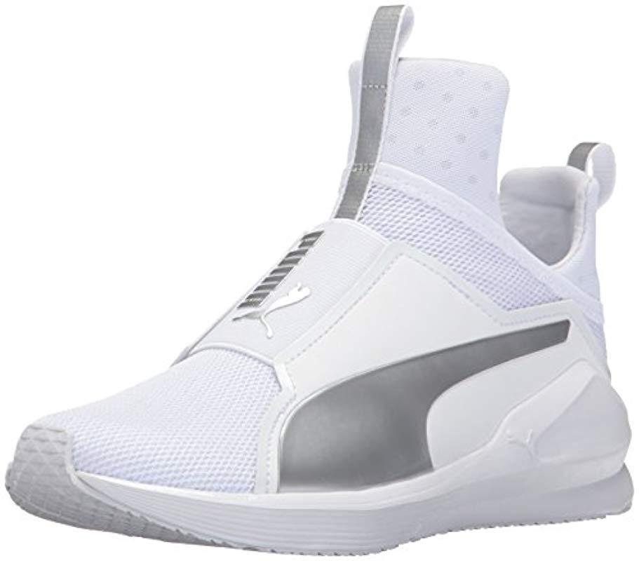 72cf3e94ee7 Lyst - PUMA Fierce Sneakers in White - Save 58%