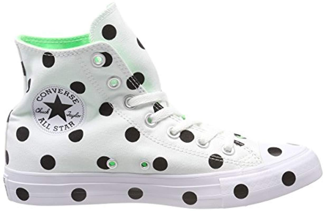 Converse Cotton Chuck Taylor All Star High Top Sneaker in White