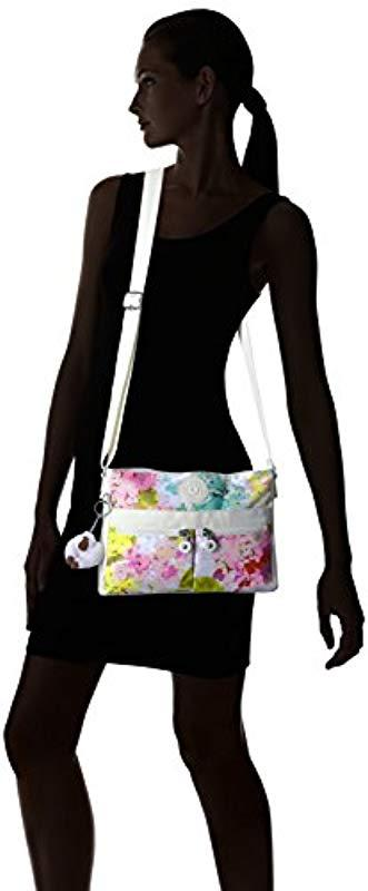 Kipling Womens Angie Solid Convertible Crossbody Bag