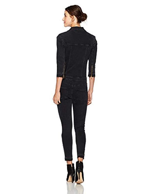 72f64bdeb8a1 Lyst - DL1961 Winnie Jumpsuit in Black
