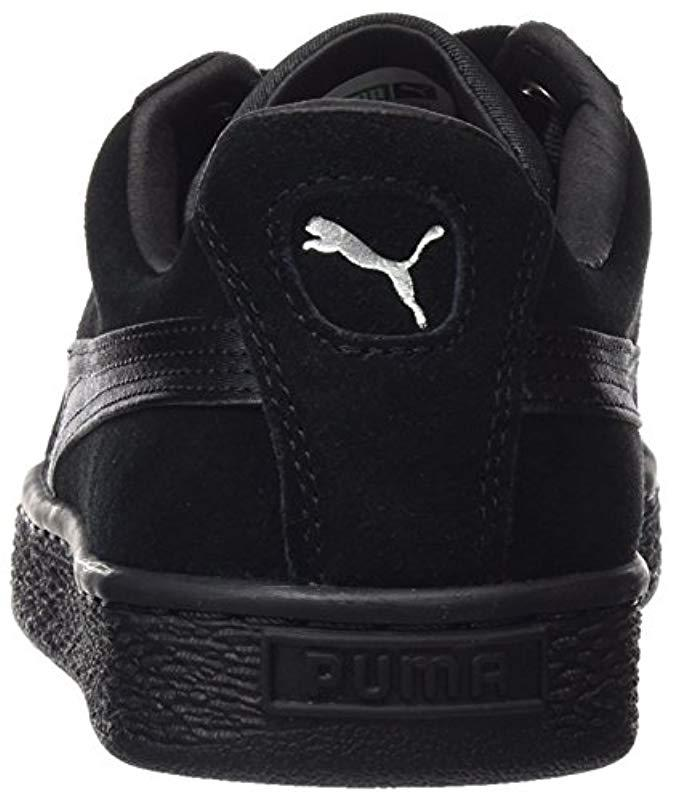 Ep Trainers Lyst Black 22 Suede Puma In 64150943396227 Save Heart waqfqEpP 8f7f35916