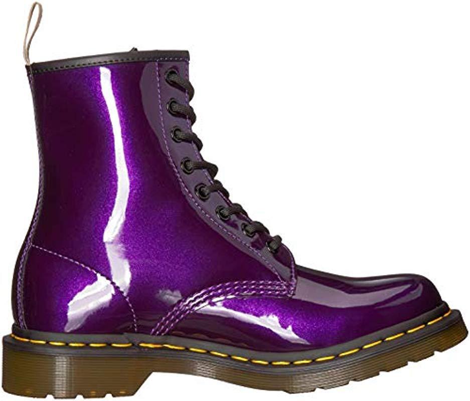 Dr. Martens S Vegan 1460 Chrome Boot in