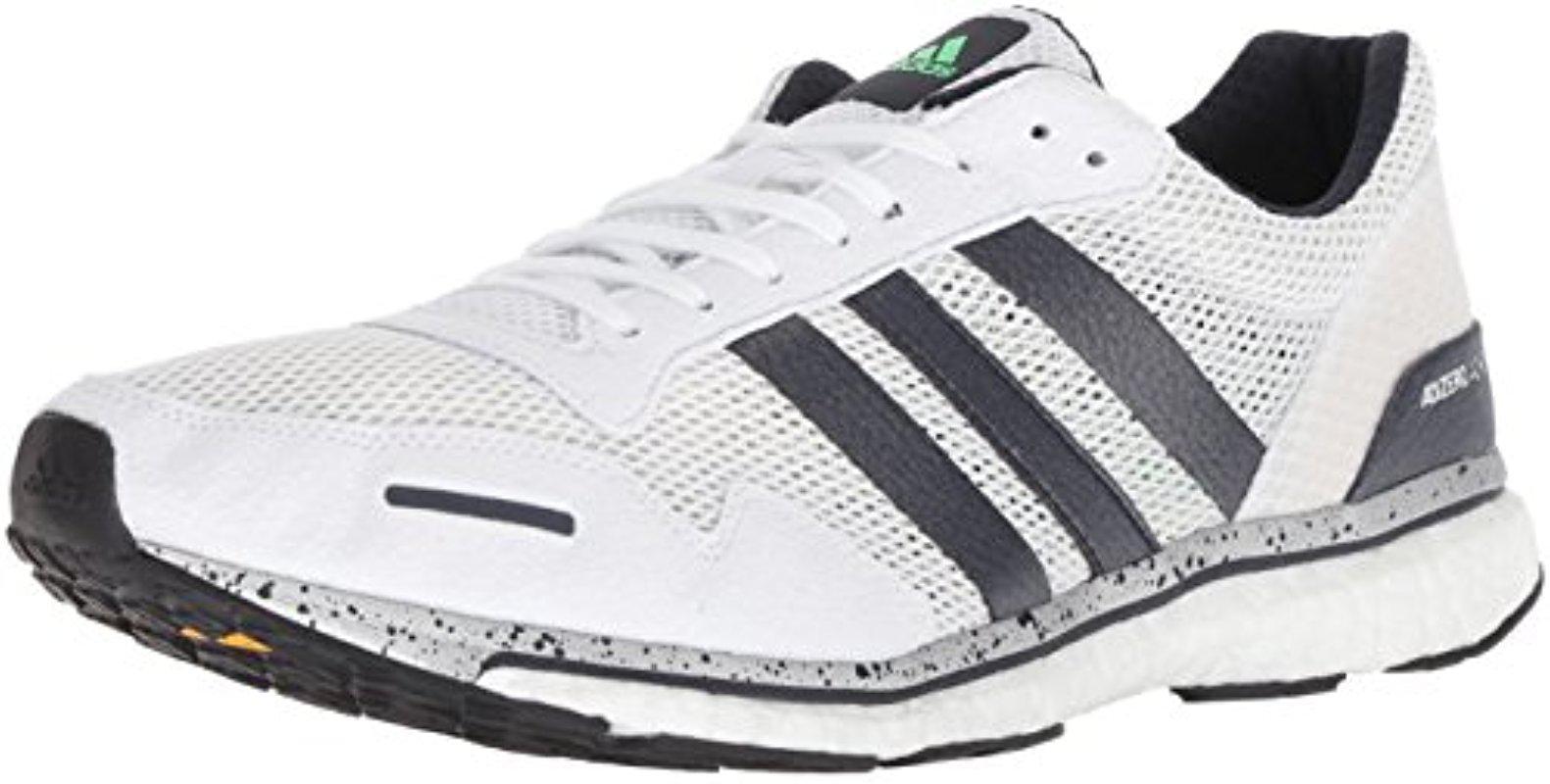 adidas Women's US 8 Adizero Adios Boost 3 Grey Bb6410