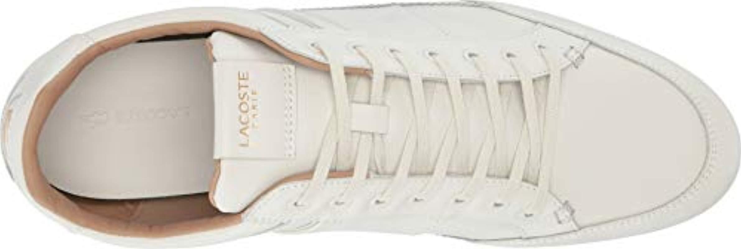 White Mens Lacoste Chaymon 119 3 U CMA Sneakers