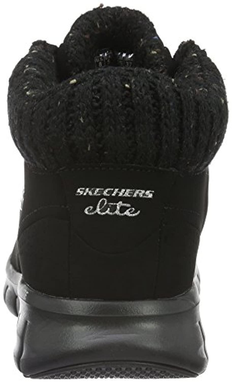 SYNERGY-WINTER NIGHTS Skechers de Denim de color Negro