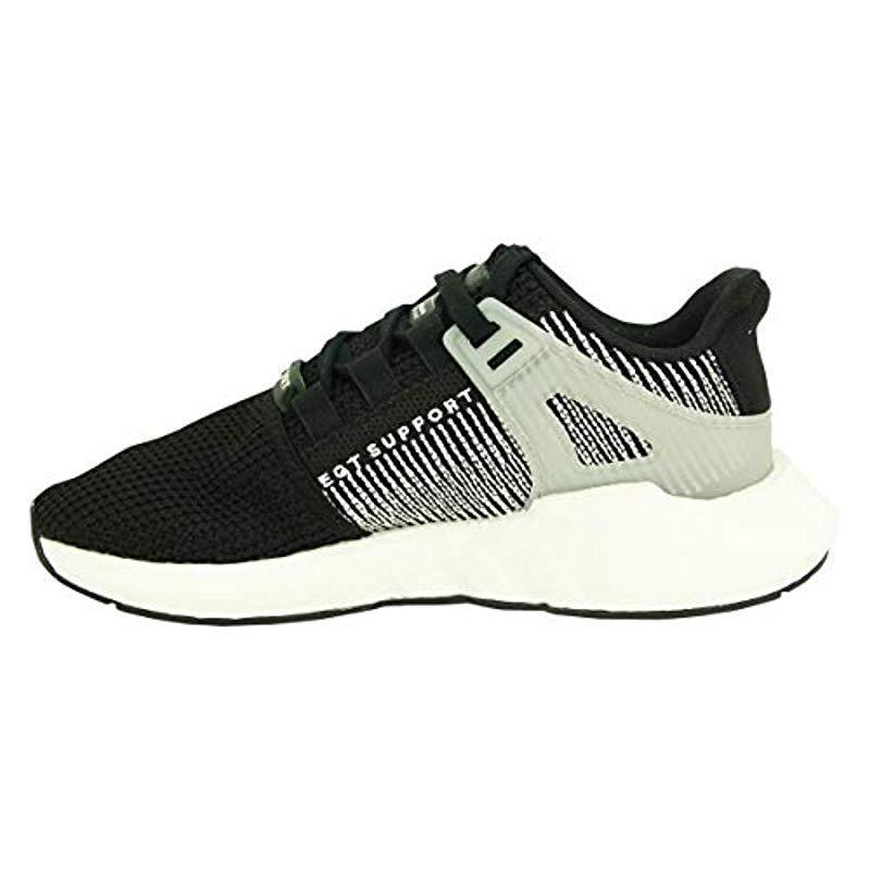 EQT Support 93/17 By9509, Chaussures de Fitness adidas pour homme en coloris Noir