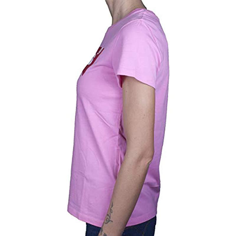 Levi's Baumwolle The Perfect Tee T-Shirt in Pink PQYfR