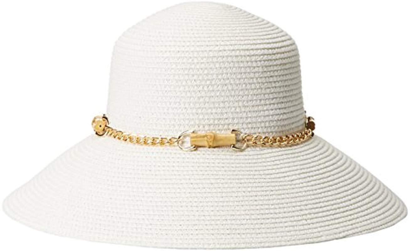 95f8fe371c7 Gottex - White San Remo Packable Sun Hat