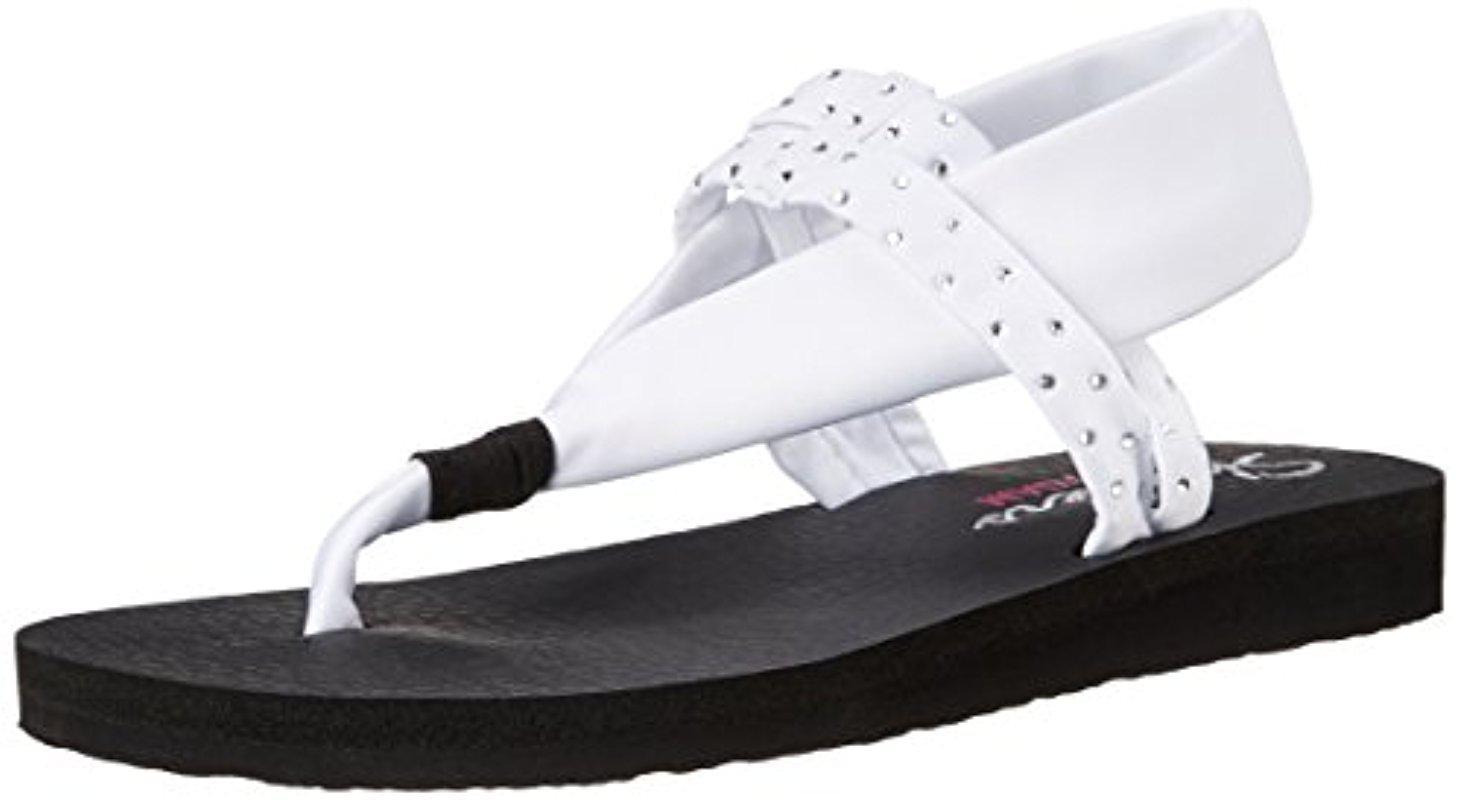 Skechers Cali Meditation Sling Yoga Flip-Flop TTb8xK1KY