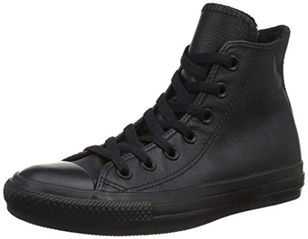 9e63ce704fb7 Converse. Black Unisex Adults  Chuck Taylor All Star Outdoor Sports Shoes