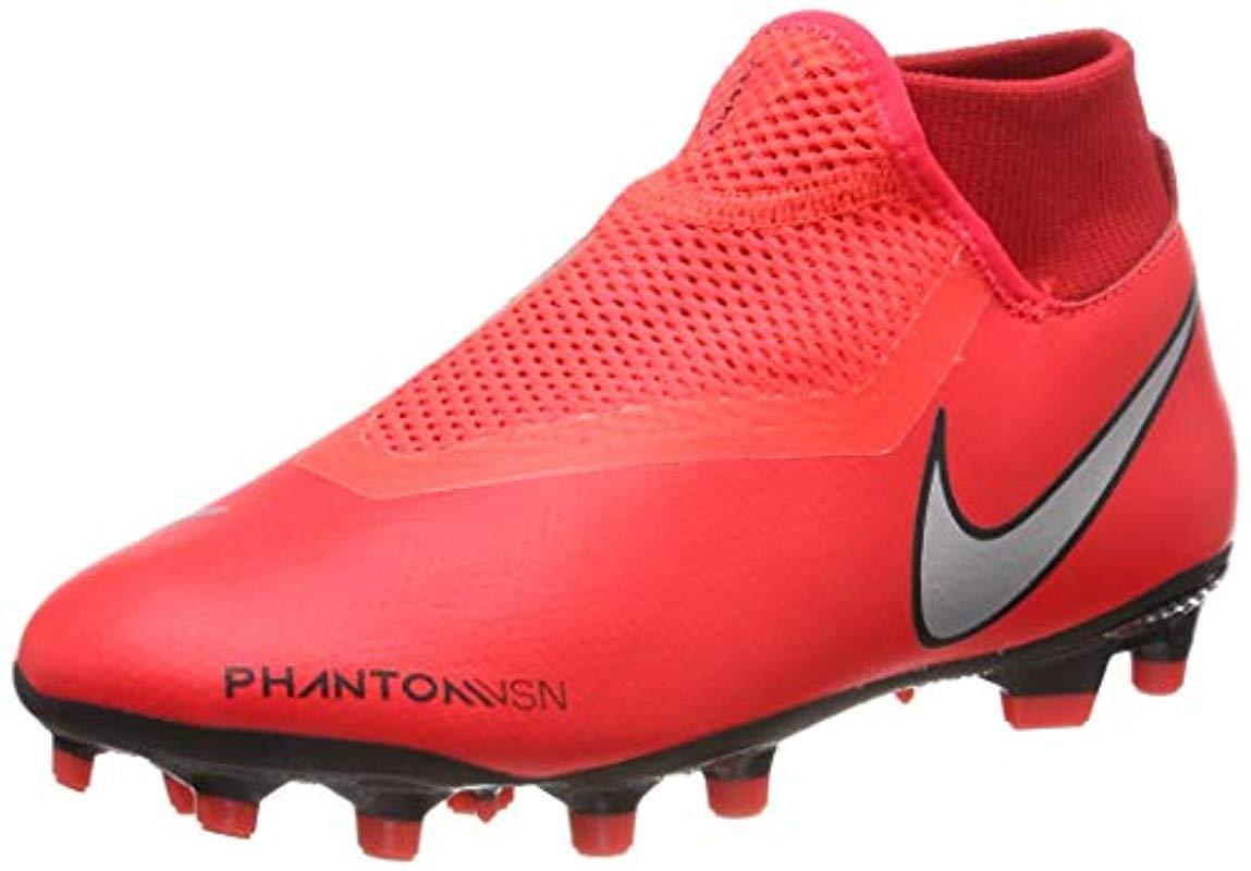 f82877340 Nike Unisex Adults  Phantom Vsn Academy Df Fg mg Footbal Shoes for ...