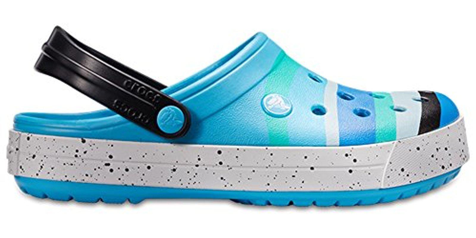 3519b88a084 Lyst - Crocs™ Unisex Crocband Color-burst Clog in Blue