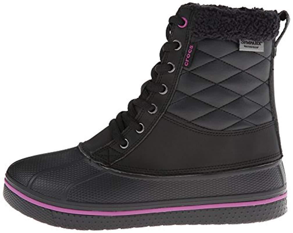 Crocs�?S Wrap Colorlite Loafer in Black