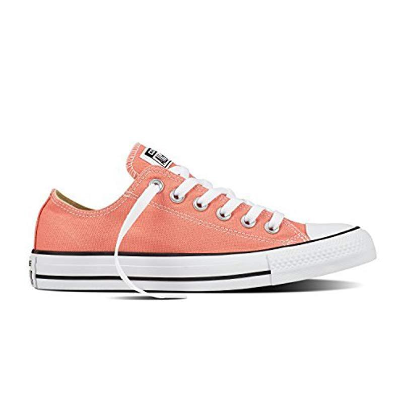 6967150978bb Converse. Pink Unisex Adult Chuck Taylor All Star Adult Seasonal Ox Trainers