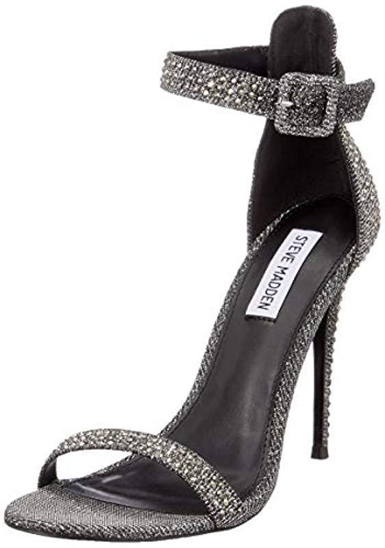 d1b1908b359 Steve Madden - Metallic  s Mischa Ankle Strap Sandals - Lyst. View  fullscreen