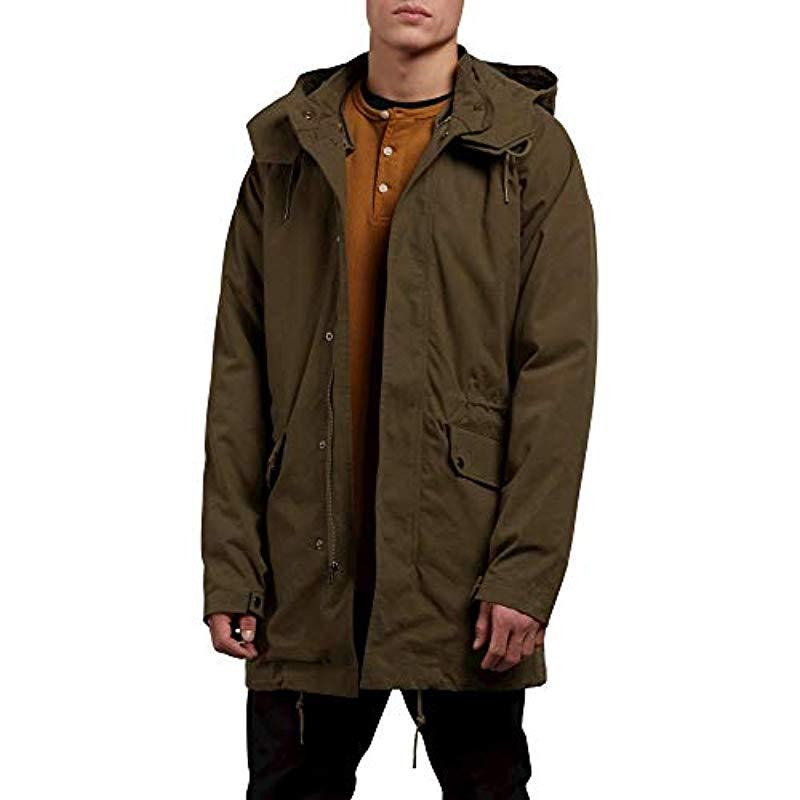 92b6633d2ce7c Volcom - Multicolor Stoner Heavy Weight Parka Jacket for Men - Lyst. View  fullscreen