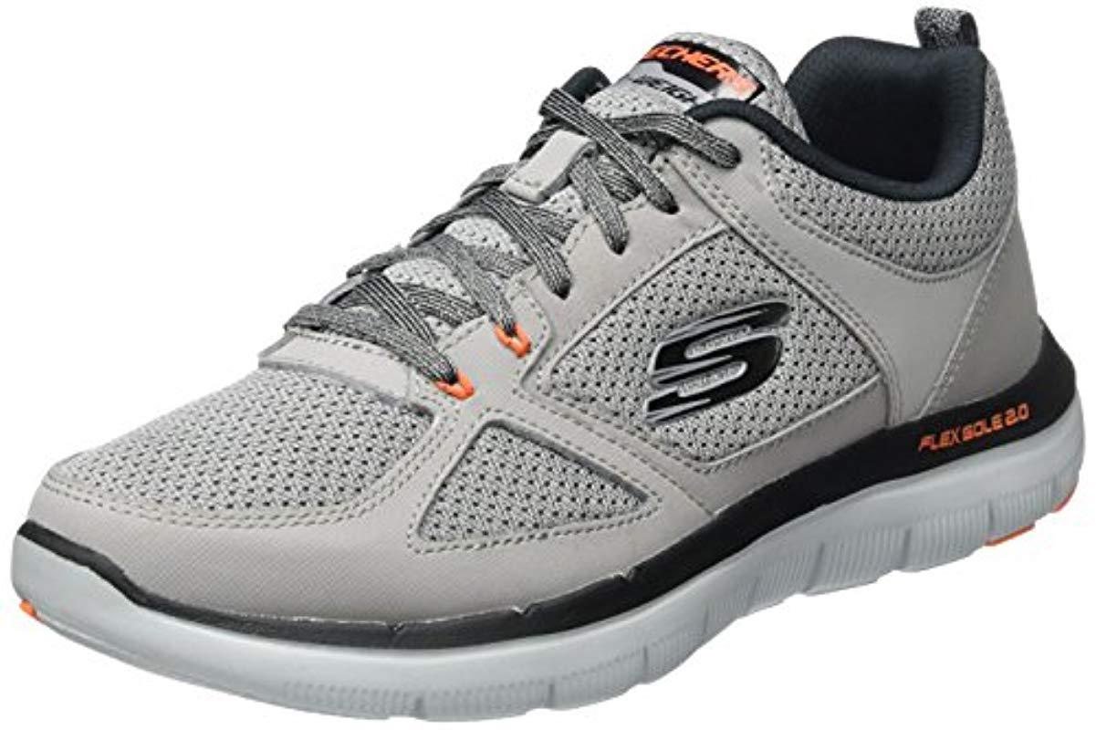 2ae377ca Skechers 's Flex Advantage 2.0 Multisport Outdoor Shoes in Gray for ...