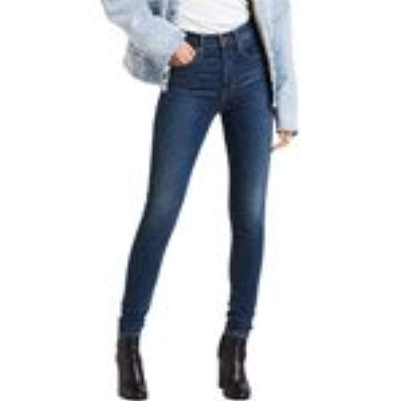 699fd8d5e7f Levi S Mile High Super Skinny Jeans in Blue - Lyst