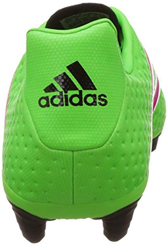 572db4f552e5 Adidas - Green Ace 16.4 Fxg Football Boots for Men - Lyst. View fullscreen