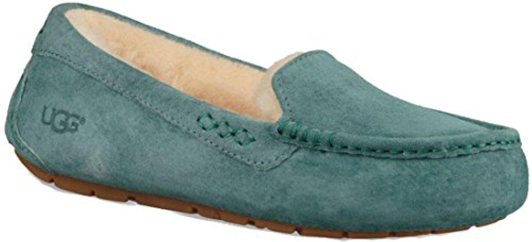UGG. Women's Green Ansley Moccasin