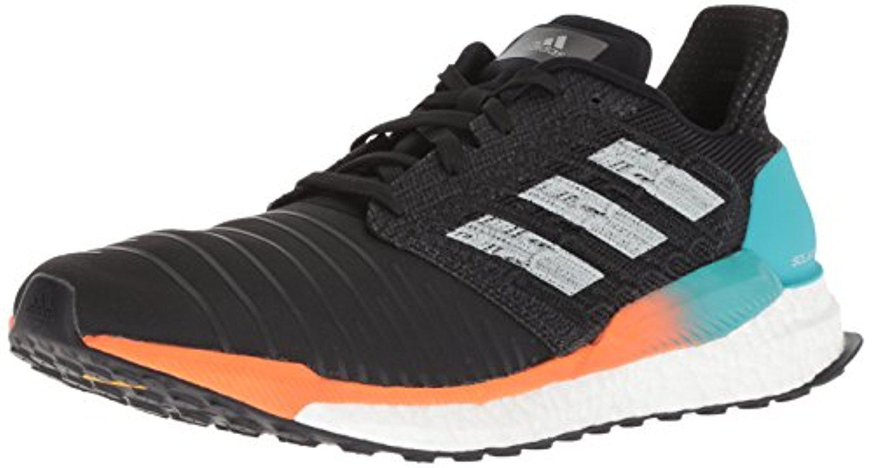 lyst adidas solare spinta scarpa da corsa in nero per gli uomini.