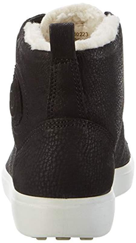Soft 7 Ladies, Baskets Bass Femme Cuir Ecco en coloris Noir - 63 % de réduction  lmG7