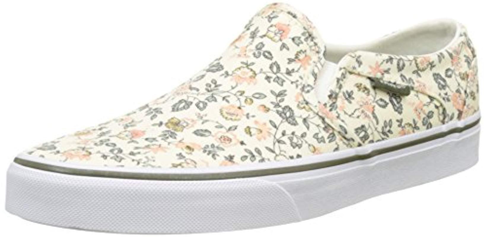4b4fcb0e34238a Vans   s Wm Asher Low-top Sneakers - Lyst