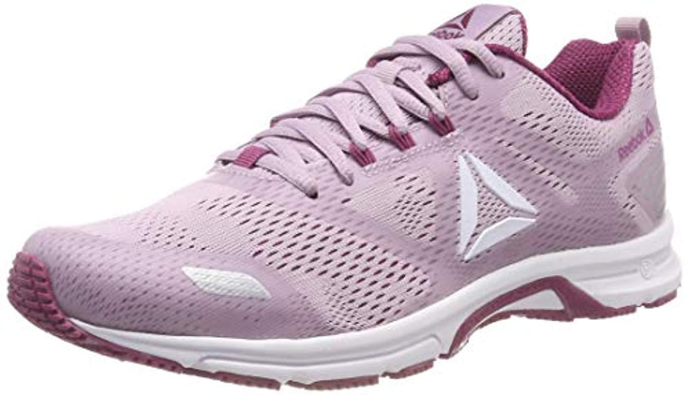 655a582dfcb8 Reebok Ahary Runner Running Shoes in Purple - Lyst