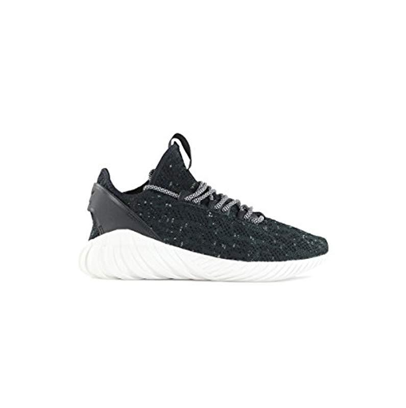 65e66cb6d691a adidas Tubular Doom Sock Primeknit Trainers in Black for Men - Lyst