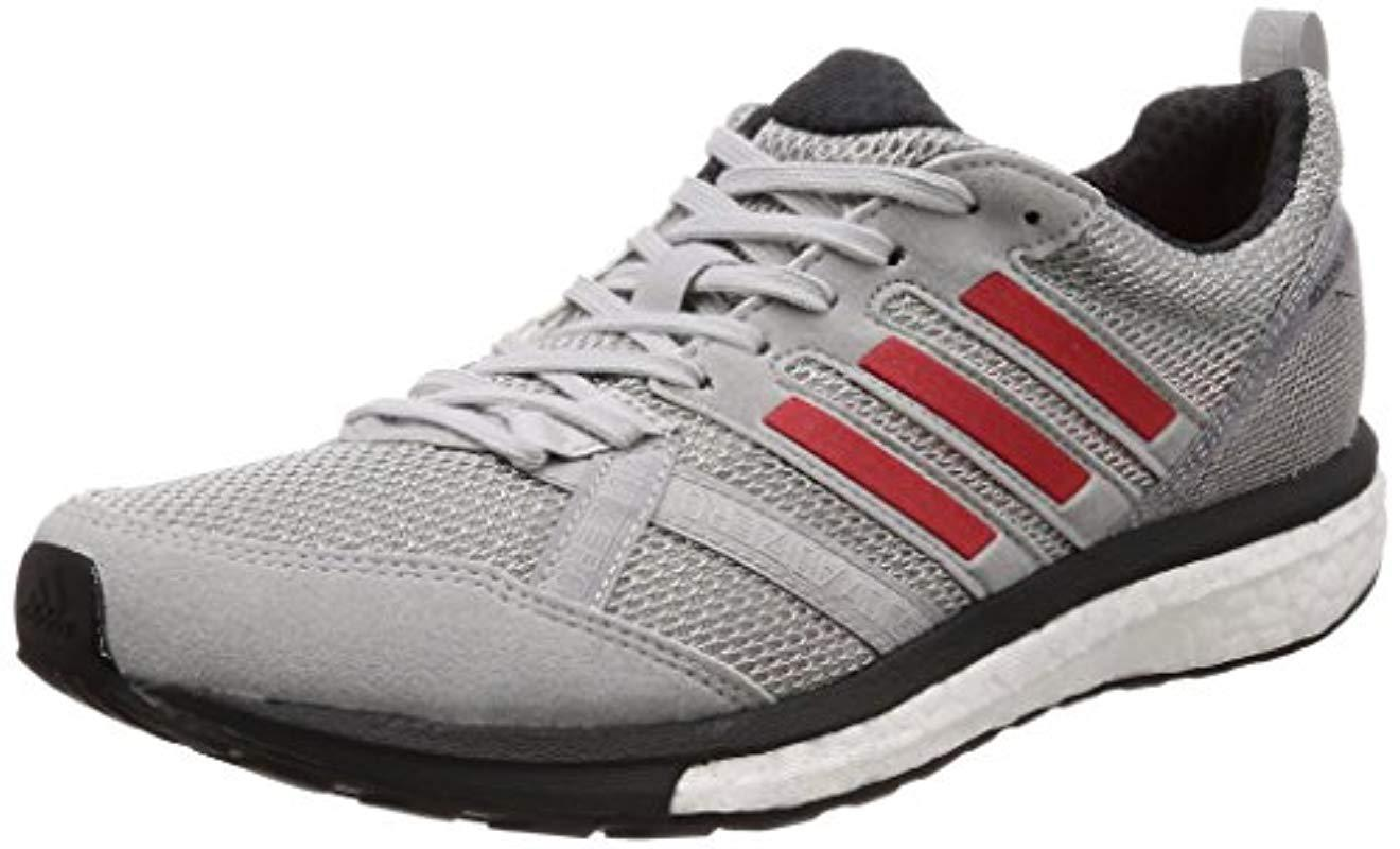 best authentic 034fb dae33 Adidas - Gray Adizero Tempo 9 M Running Shoes for Men - Lyst