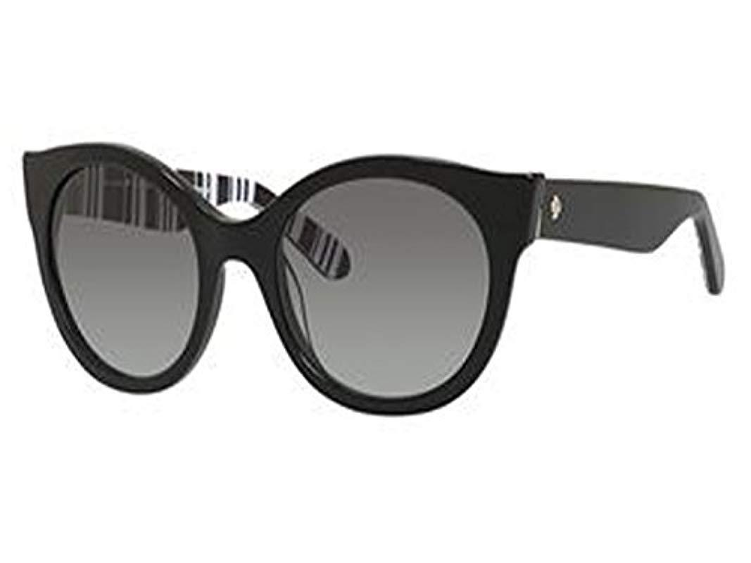 2ede660501 Kate Spade. Women s Black Kate Spade Melly s Non-polarized Cateye Sunglasses