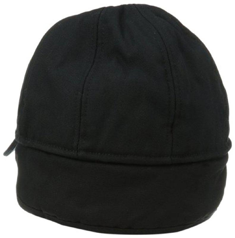 583a55e72a387 Carhartt - Black Workflex Ear Flap Cap for Men - Lyst. View fullscreen