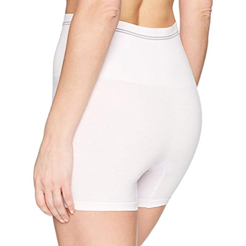 8826fefcdd Yummie - White Cotton Seamless Shapewear Short - Lyst. View fullscreen