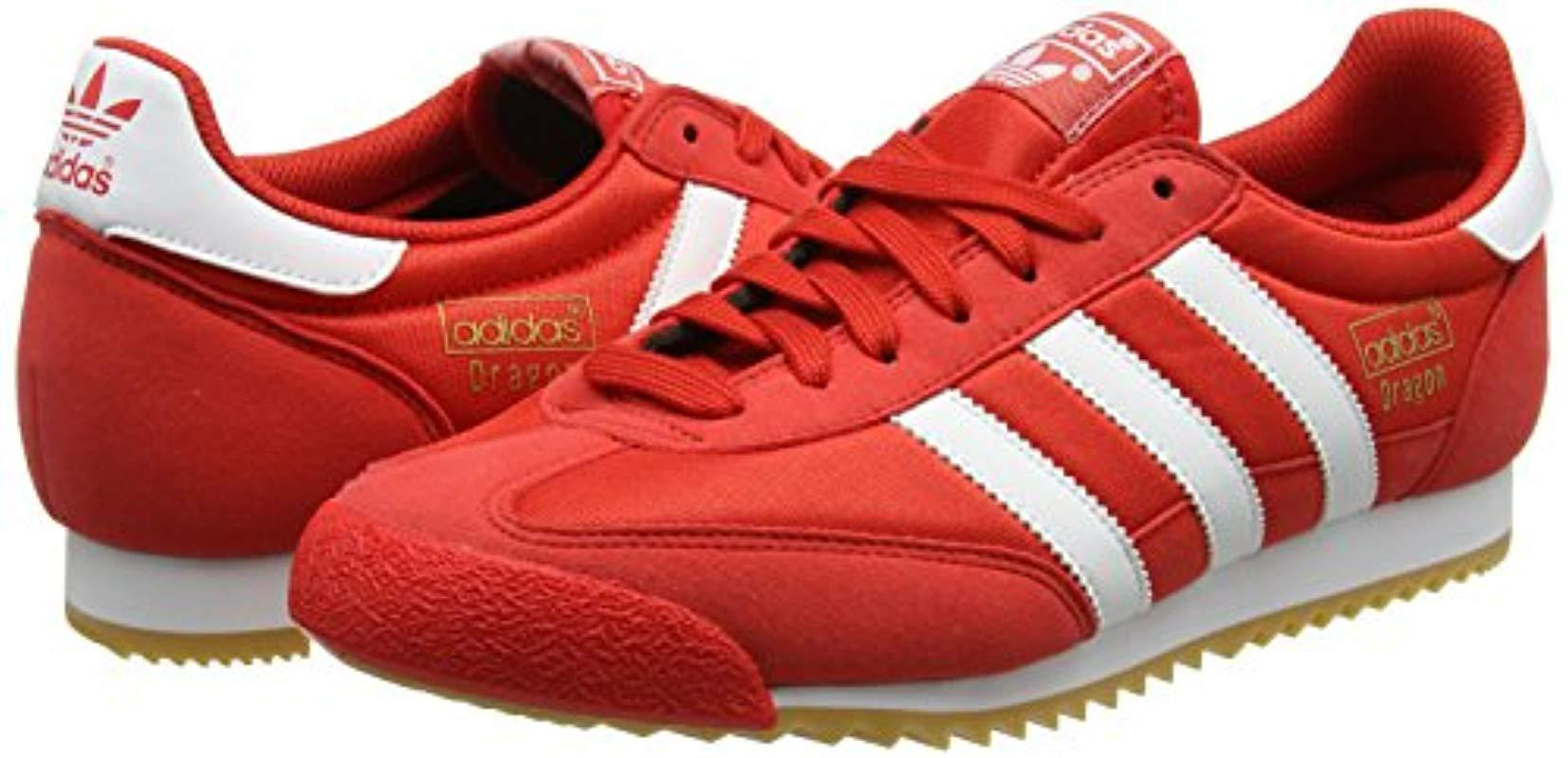 adidas dragon red trainers buy clothes shoes online