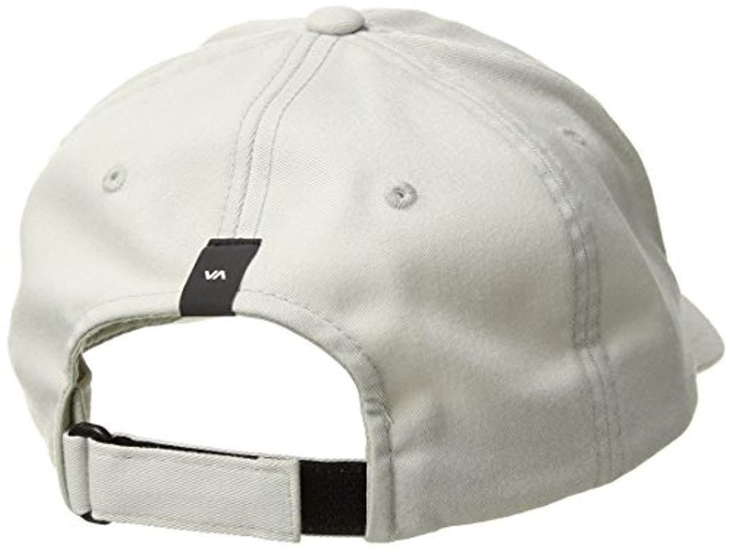 86f3bd401 Lyst - RVCA Va Sport Trainer Hat for Men - Save 17%
