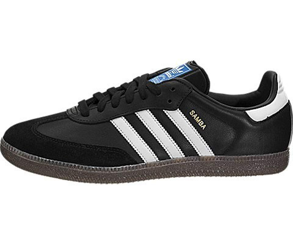 competitive price 2b571 e530d adidas. Mens Black Performance Samba Classic Indoor Soccer Shoe