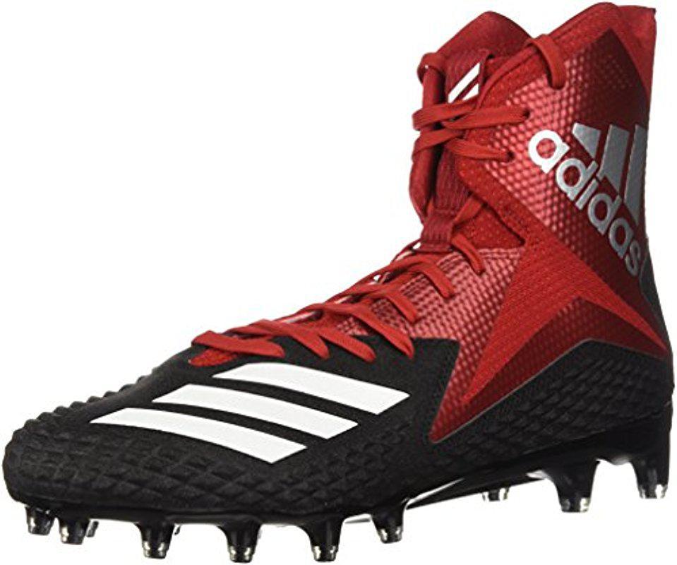 Lyst - adidas Originals Freak X Carbon Mid Football Shoe in Red for Men 35b098f13