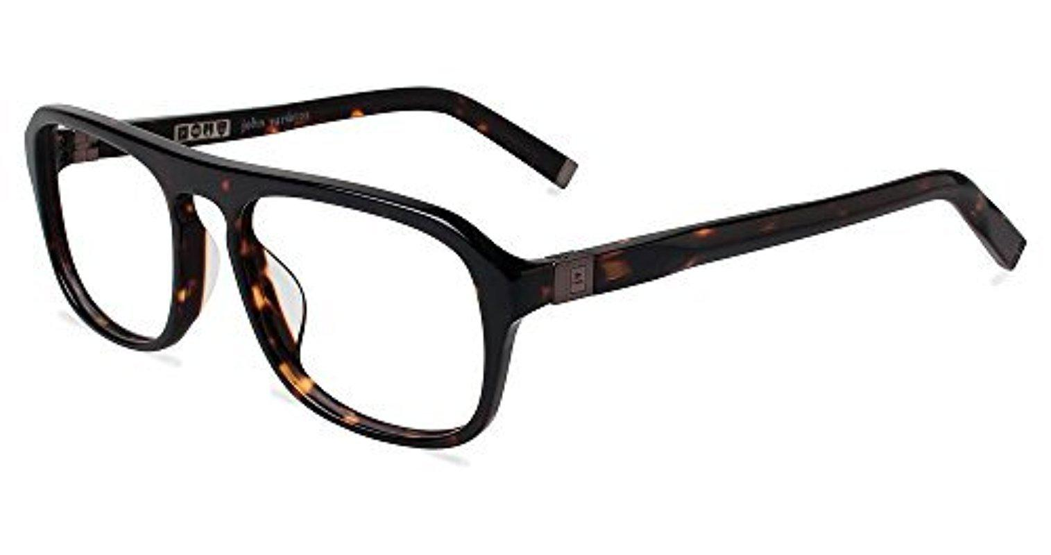 89ab5455da1 Lyst - John Varvatos Prescription Eyeglasses - V362 Uf Tortoise - 55 ...