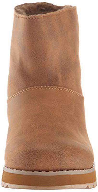 Keepsakes 2.0, Botas Efecto Arrugado para Mujer Skechers de color Marrón